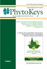 PhytoKeys 45: Report on Botanical Nomenclature – Vienna 2005. XVII International Botanical Congress, Vienna: Nomenclature Section, 12–16 July 2005