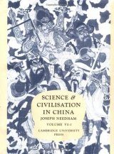 Science and Civilisation in China, Volume 6: Biology and Biological Technology, Part 1: Botany
