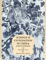 Science and Civilisation in China, Volume 6: Biology and Biological Technology, Part 2: Agriculture