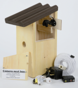 Nest Box with Infrared Camera