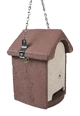 Protector Hanging Bat Box - Brown