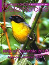 Conservación Colombiana 21: Birds of Colombia 2014 / Aves de Colombia 2014
