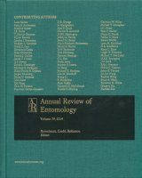 Annual Review of Entomology, Volume 59
