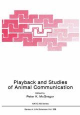 Playback and Studies of Animal Communication