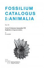 Fossilium Catalogus Animalia, Volume 152 [English]