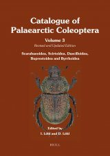 Catalogue of Palaearctic Coleoptera, Volume 3