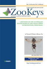 ZooKeys 521: A Revision of the Australian Digger Wasps in the Genus Sphex (Hymenoptera, Sphecidae)