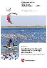 Zum Einfluss von Kitesurfen auf Wasser- und Watvögel: Eine Übersicht [On The Influence of Kitesurfing on Water and Wading Birds: An Overview]