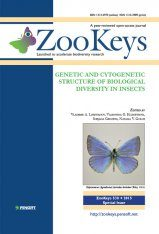ZooKeys 538: Genetic and Cytogenetic Structure of Biological Diversity in Insects