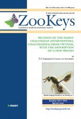 ZooKeys 576: Revision of the Family Chalcididae (Hymenoptera, Chalcidoidea) from Vietnam, with the Description of 13 New Species