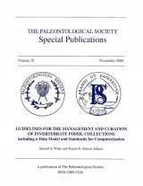 Guidelines for the Management and Curation of Invertebrate Fossil Collections Including a Data Model and Standards for Computerization