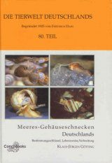 Meeres-Gehäuseschnecken Deutschlands: Bestimmungsschüssel, Lebensweise, Verbreitung [Sea Snails of Germany: Identification Key, Lifestyle, Distribution]