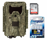 Bushnell Trophy Cam Aggressor HD No Glow 24MP Camo (119877) - Starter Bundle