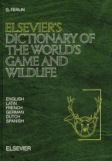 Elsevier's Dictionary of the World's Game and Wildlife