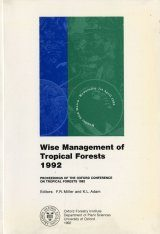 Wise Management of Tropical Forests 1992