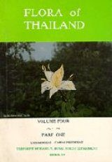 Flora of Thailand, Volume 4, Part 1