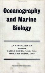Oceanography and Marine Biology: An Annual Review: Volume 25