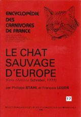Encyclopédie des Carnivores de France, Part 17: Le Chat Sauvage D'Europe (Felis silvestris Schreber, 1777)