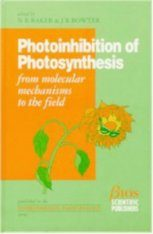 Photoinhibition of Photosynthesis: From Molecular Mechanisms to Field