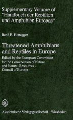 Threatened Amphibians and Reptiles in Europe