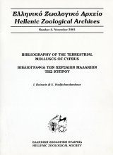 Bibliography of the Terrestrial Molluscs of Cyprus