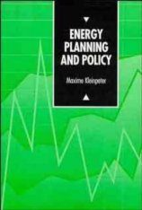 Energy Planning and Policy