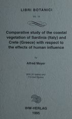 Comparative Study of the Coastal Vegetation of Sardinia (Italy) and Crete (Greece) with Respect to the Effects of Human Influence
