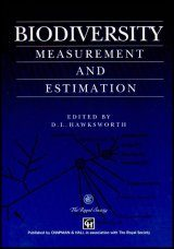 Biodiversity: Measurement and Estimation