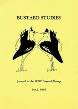Bustard Studies, No.2, 1985