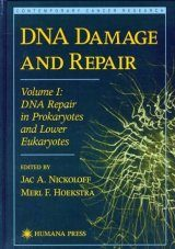 DNA Damage and Repair, Volume 1