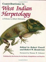 Contributions to West Indian Herpetology