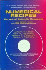 Numerical Recipes Code CD-ROM with UNIX Single Screen License
