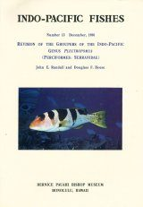Revision of the Groupers of the Indo-Pacific Genus Plectropomus (Perciformes: Serranidae)