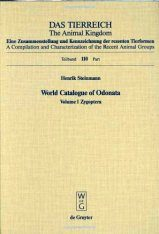 World Catalogue of Odonata, Volume I: Zygoptera
