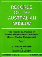 The Families and Genera of Marine Gammaridean Amphipoda (except marine