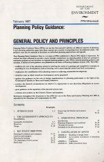 PPG1: General Policy and Principles (Revised Edition)