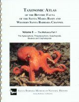 Taxonomic Atlas of the Benthic Fauna of the Santa Maria Basin and the Western Santa Barbara Channel, Volume 8