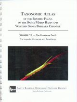 Taxonomic Atlas of the Benthic Fauna of the Santa Maria Basin and the Western Santa Barbara Channel, Volume 11