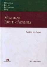 Membrane Protein Assembly