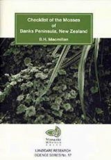 Checklist of the Mosses of Banks Peninsula, New Zealand