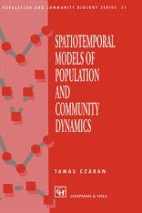 Spatiotemporal Models of Population and Community Dynamics