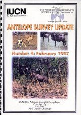 Antelope Survey Update, Number 4: February 1997: Mali, Tanzania