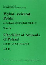 Checklist of Animals of Poland, Volume 4: Porifera - Symphala