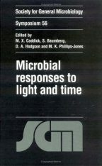 Microbial Responses to Light and Time