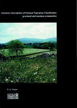 Summary Descriptions of National Vegetation Classification: Grassland and Montane Communities