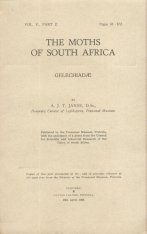 The Moths of South Africa, Volume 5, Part 2 (1950): Gelechiadae (2-Volume Set)