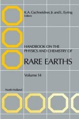 Handbook on the Physics and Chemistry of Rare Earths, Volume 14
