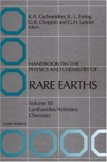 Handbook on the Physics and Chemistry of Rare Earths, Volume 18