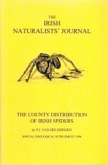The County Distribution of Irish Spiders