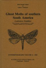 Ghost Moths of Southern South America (Lepidoptera: Hepialidae)